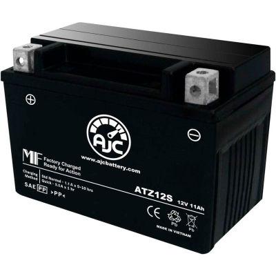 AJC Battery Honda STZ12S 750CC Motorcycle Battery (2004-2010), 11 Amps, 12V, B Terminals