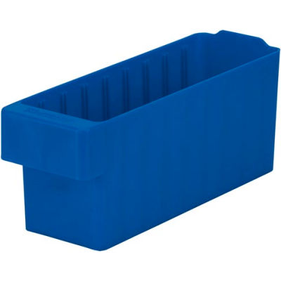 "Akro-Mils Dividable Akrodrawer 31142 - 3-1/4""W x 11-5/8""D x 4-5/8""H, Blue - Pkg Qty 6"