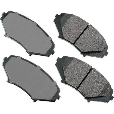 Akebono AKACT1009 ProACT Ultra Premium Ceramic Disc Brake Pad Kit