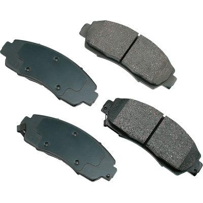 Akebono AKACT1089 ProACT Ultra Premium Ceramic Disc Brake Pad Kit