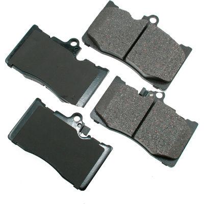 Akebono AKACT1118 ProACT Ultra Premium Ceramic Disc Brake Pad Kit