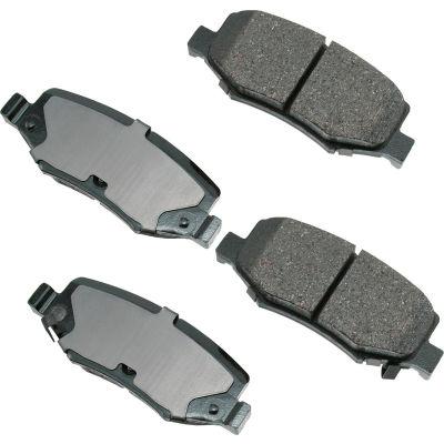 Akebono AKACT1274 ProACT Ultra Premium Ceramic Disc Brake Pad Kit