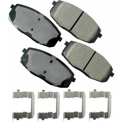 Akebono AKACT1397 ProACT Ultra Premium Ceramic Disc Brake Pad Kit