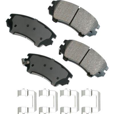 Akebono AKACT1404 ProACT Ultra Premium Ceramic Disc Brake Pad Kit