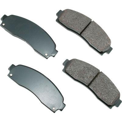 Akebono AKACT833 ProACT Ultra Premium Ceramic Disc Brake Pad Kit