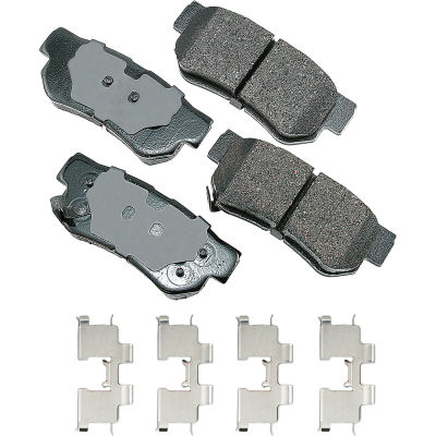 Akebono AKACT863A ProACT Ultra Premium Ceramic Disc Brake Pad Kit