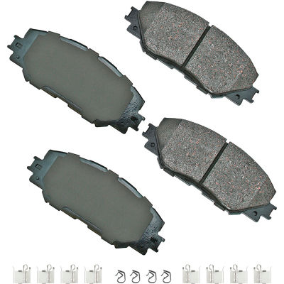 Akebono AKASP1210A Performance Ultra Premium Ceramic Disc Brake Pad Kit