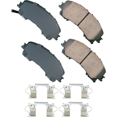 Akebono AKASP1736 Performance Ultra Premium Ceramic Disc Brake Pad Kit