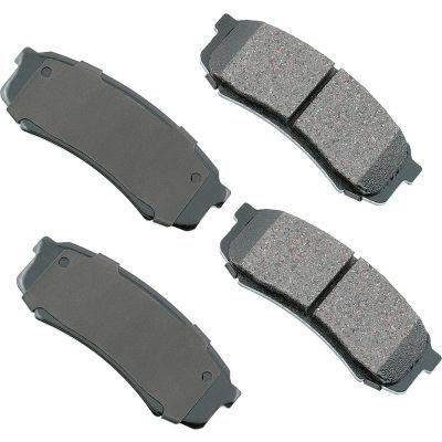 Akebono AKASP606 Performance Ultra Premium Ceramic Disc Brake Pad Kit