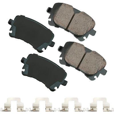 Akebono AKEUR1018A EURO Ultra Premium Ceramic Disc Brake Pad Kit