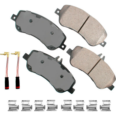 Akebono AKEUR1406 EURO Ultra Premium Ceramic Disc Brake Pad Kit