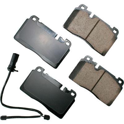 Akebono AKEUR1663A EURO Ultra Premium Ceramic Disc Brake Pad Kit