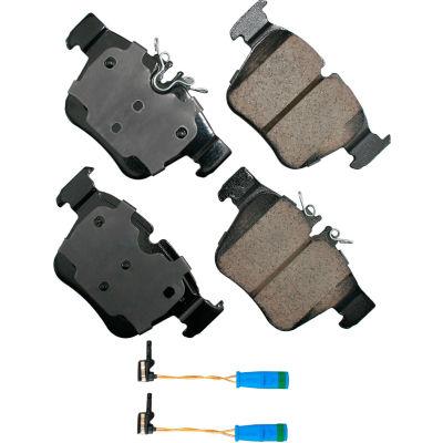 Akebono AKEUR1872 EURO Ultra Premium Ceramic Disc Brake Pad Kit
