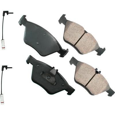 Akebono AKEUR710 EURO Ultra Premium Ceramic Disc Brake Pad Kit