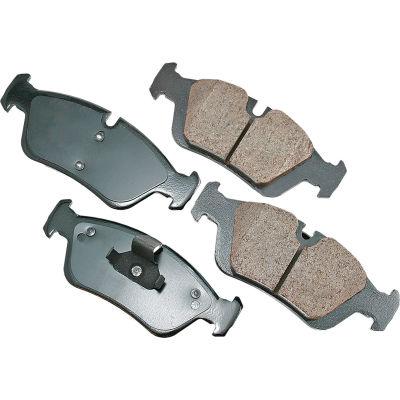 Akebono AKEUR781 EURO Ultra Premium Ceramic Disc Brake Pad Kit