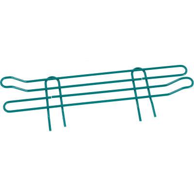 """Nexel® Poly-Green® Wire Ledge 18""""W x 4""""H"""