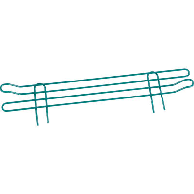 "Nexel® Poly-Green® Wire Ledge 24""W x 4""H"