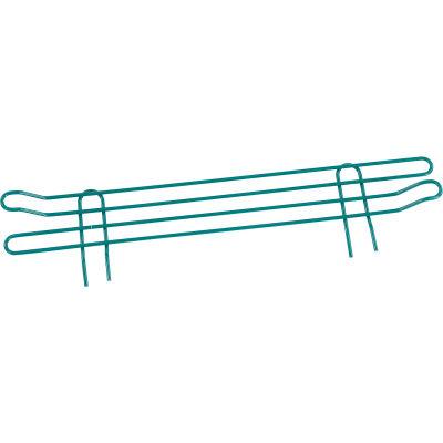 """Nexel® Poly-Green® Wire Ledge 24""""W x 4""""H"""