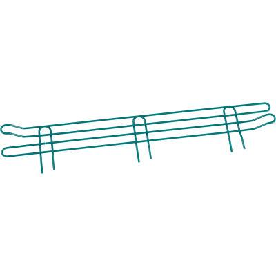 """Nexel® Poly-Green® Wire Ledge 30""""W x 4""""H"""