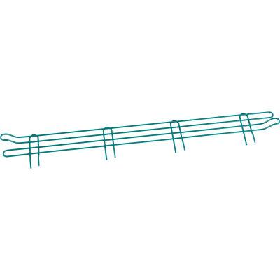 """Nexel® Poly-Green® Wire Ledge 42""""W x 4""""H"""