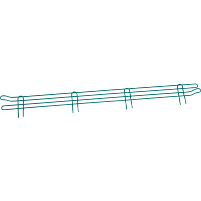 "Nexel® Poly-Green® Wire Ledge 48""W x 4""H"