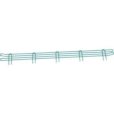 """Nexel® Poly-Green® Wire Ledge 54""""W x 4""""H"""