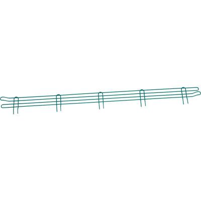 """Nexel® Poly-Green® Wire Ledge 60""""W x 4""""H"""