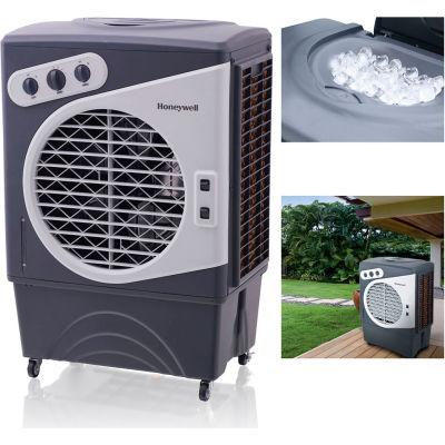 Honeywell Indoor/Outdoor Portable Evaporative Air Cooler CO60PM, 125 Pint