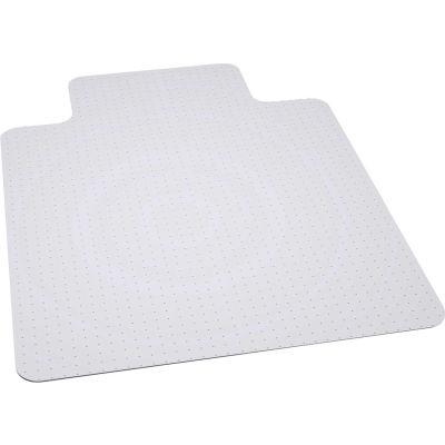 """ES Robbins® Bulk Pack Chair Mat for Carpet - 45""""W x 53""""L - Beveled Edge- Ind. Pkg"""