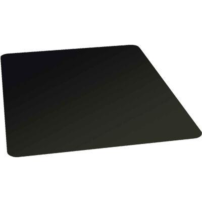 "ES Robbins® Office Chair Mat for Hard Floor Light Use - 36""W x 48""L - Straight Edge - Black"
