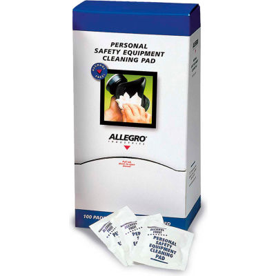 "Allegro 3001 Towelettes 5"" x 8"", Alcohol Free, 100/Box"