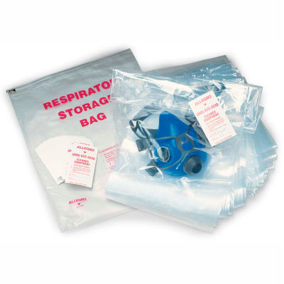 Allegro 4001-05 Disposable Respirator Storage Bags, 100/Pack