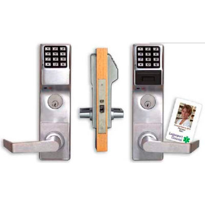 Trilogy PDL3500CRR/26D Access Control Keypad/Proximity Reader Mortise Lock, Classroom Function W/Aud