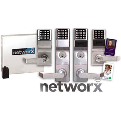 Networx PDL6500CRR/26D Access Control Networx Digital/Proximity Lock, 5000 Combination, Wirelessly P