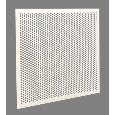"""American Louver Stratus 1/4"""" Perforated Plastic Panel, Ceiling T-Grid, PK2"""