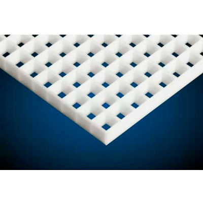 "American Louver Polystyrene Eggcrate Core Panel, White, 24"" x 48"", 5/8 Cell Size, 2 Pack"