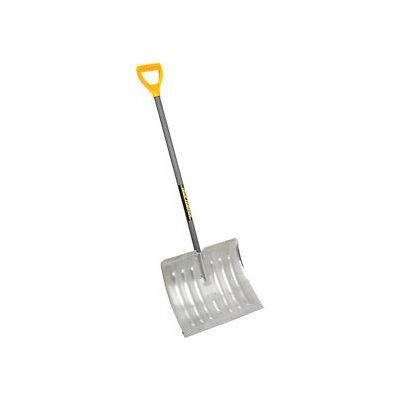 "TrueTemper® 1641000 18"" Aluminum Blade Combo Snow Shovel W/ Steel Extra Wide D-Grip Handle"