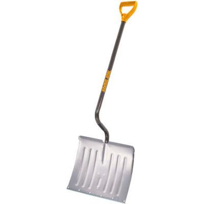 "TrueTemper® 1641200 18"" Ergonomic Aluminum Blade Combo Snow Shovel W/ Steel D-Grip Handle"