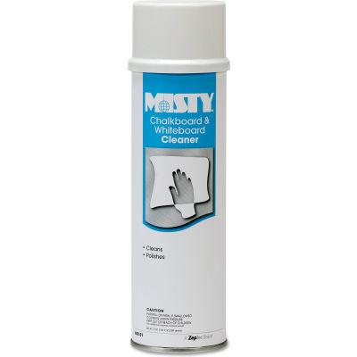 Misty Chalkboard & Whiteboard Cleaner , 19 oz. Aerosol Can, 12 Cans - 1001403