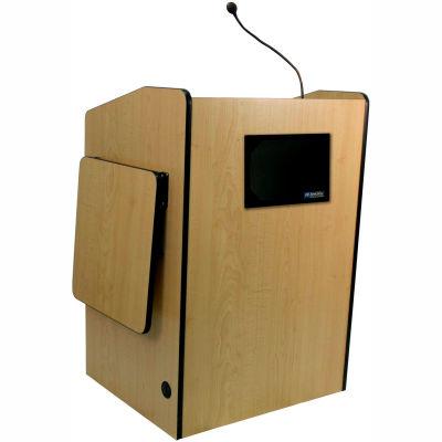 Multimedia Presentation Plus Podium With Sound - Maple