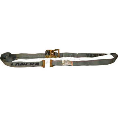 Ancra® 48672-14 Series E & A Ratchet Strap - 16'L - Spring Actuated Fitting
