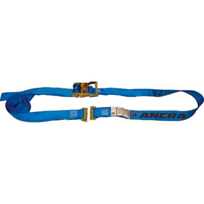 Ancra® 48672-15 Series E & A Cargo Control Ratchet Strap - 20'L - Spring Actuated Fitting