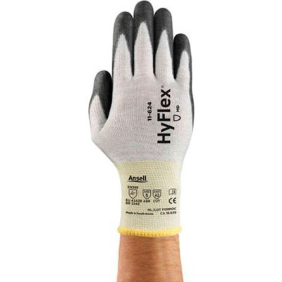 HyFlex® Cut Resistant Gloves, Ansell 11-624-7, 1-Pair