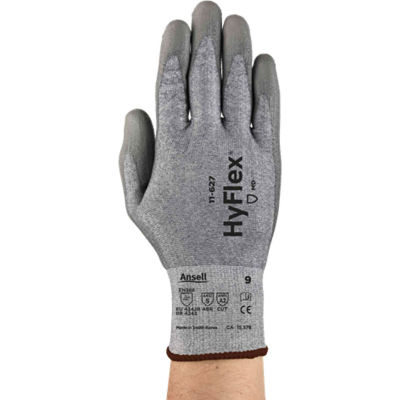 HyFlex® CR2 Dyneema® Cut Protection Gloves, Ansell 11-627-7, 1-Pair