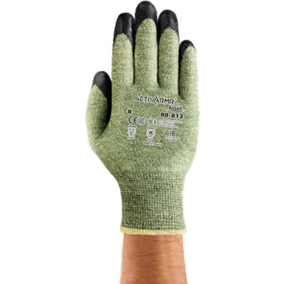 ActivArmr® Flame and Cut Resistant Gloves, Ansell 80-813, Size 10, 1 Pair