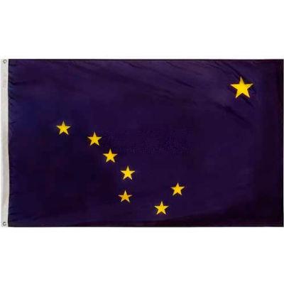 3X5 Ft. 100% Nylon Alaska State Flag