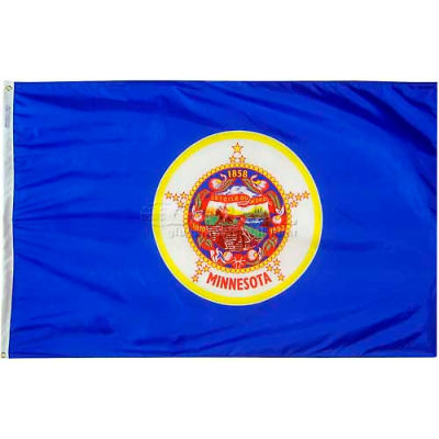 4X6 Ft. 100% Nylon Minnesota State Flag