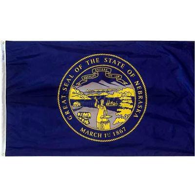 3X5 Ft. 100% Nylon Nebraska State Flag
