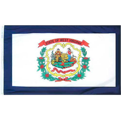 3X5 Ft. 100% Nylon West Virginia State Flag