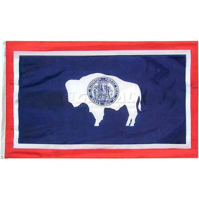 4X6 Ft. 100% Nylon Wyoming State Flag
